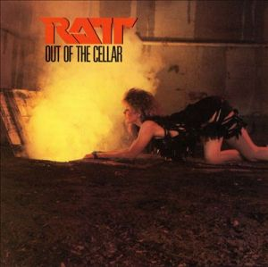 Ratt - Out Of The Cellar - promo album cover pic - #MO0909333ILMFM