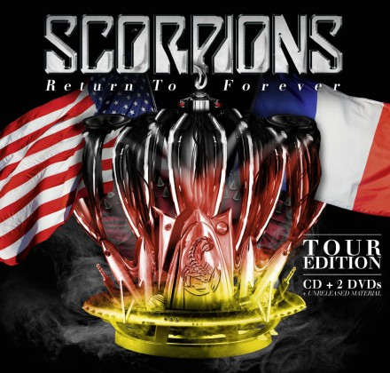 Scorpions - Return To Forever - Tour Edition - promo cover album pic - 2016 - #MOSILMF993303