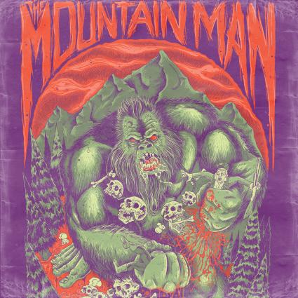 The Mountain Man - Bloodlust EP - 2016 - promo album cover pic - #MO9999ILN