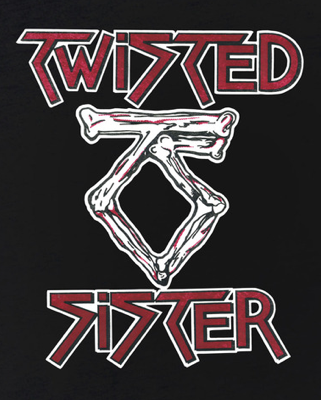 Twisted Sister - Classic Band Logo - #MOTS99ILMFSM93