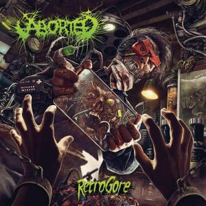 Aborted - Retrogore - promo album cover pic - #MO990GORE