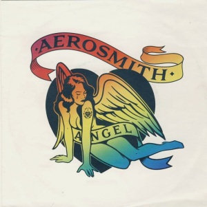 Aerosmith - Angel - promo 45rpm cover sleeve pic - #MO999ILMFM