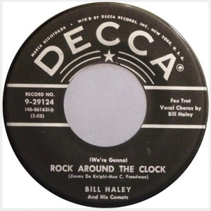 Bill Haley And His Comets - Rock Around The Clock - promo 45rpm - #33033ILMFG66