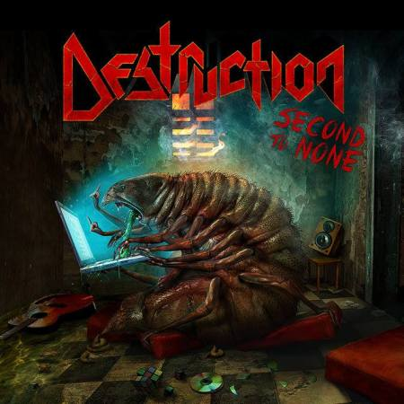 DESTRUCTION - Second To None - promo single cover art pic - 2016 - #MO99099ILMF