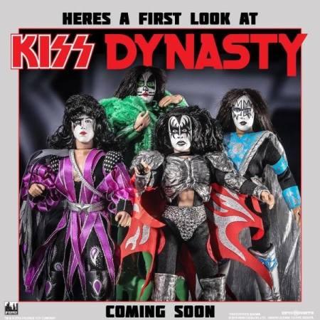 KISS - Dynasty Action Figures - promo flyer - 2016 - #MO00999ILMFSP
