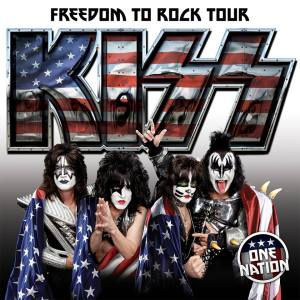 KISS - Freedom To Rock Tour - 2016 - promo tour flyer - #3333ILMFP9