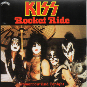 KISS - Rocket Ride - 45rpm - cover sleeve pic - #MO090966KF