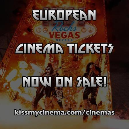Kiss - Rocks Vegas - European Tickets Promo Flyer - #MO2016ILMF9933
