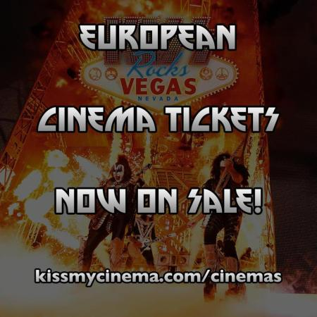 Kiss - Rocks Vegas - European Tickets Promo Flyer - #MO2016ILMF9933