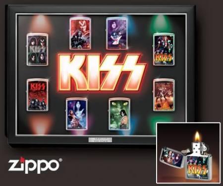 KISS - zippo lighters - promo pic - #MO099099ILMF