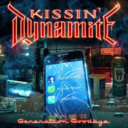 Kissin' Dynamite - Generation Goodbye - promo cover pic - #MO99955ILMFS