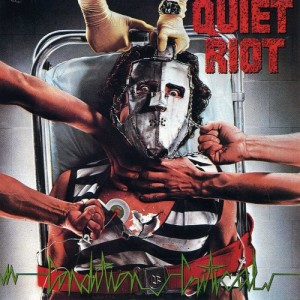 Quiet Riot - Condition Critical - promo album cover pic - #MO1984ILMNSM
