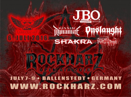 Rockharz Open Air - 2016 - Promo Flyer - #MO99099ILN