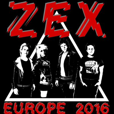 Zex Europe - 2016 - promo tour flyer - #MO99977INHS