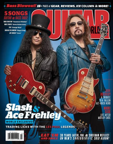 Ace Frehley - Slash - Guitar World - June - 2016 - #MO099099ILMFMSO