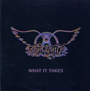 Aerosmith - What It Takes - promo 45rpm cover pic - 1990 - #99imwk'fd