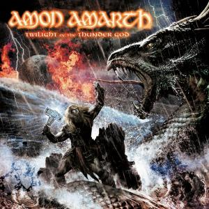 Amon Amarth - Twilight Of The Thundergod - promo album cover pic - #99OOILMFS