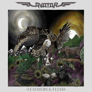 AVATAR - Feathers And Flesh - promo album cover pic - 2016 - #MOILMNFS777993