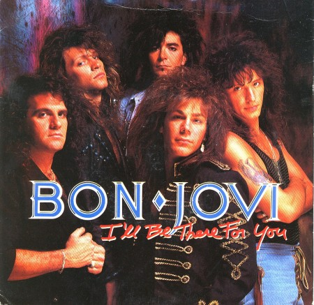 Bon Jovi - I'll Be There For You - 45rpm - cover sleeve photo pic - 1989 - #MOILMFS33396
