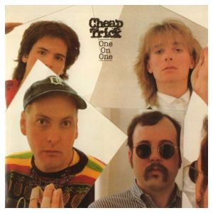 Cheap Trick - One On One - 1982 - album cover promo pic - #99ILMNMFS8299