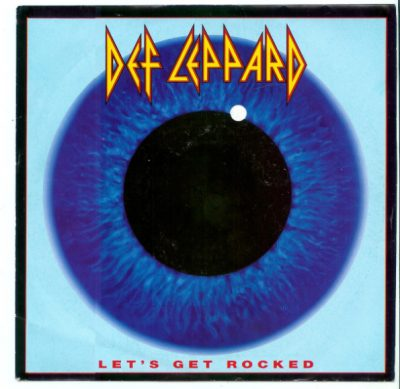 Def Leppard - Let's Get Rocked - CD Single Cover Promo pic - #MO20169909ILNFMS