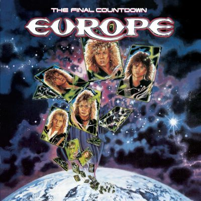 EUROPE - The Final Countdown - promo album cover pic - #MO999377ILNMF