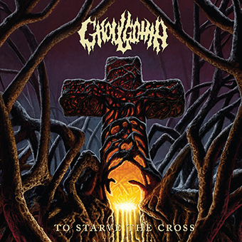 Ghoulgotha - To Starve The Cross - promo album cover pic - 2016 - #MO99033ILMF