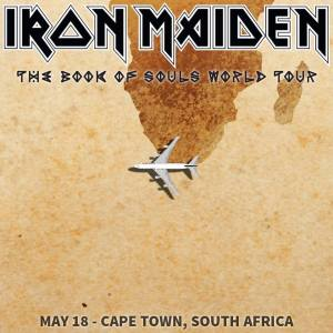 Iron Maiden - May 18 - 2016 - Cape Town - South Africa - #MO93393ILMGFSO