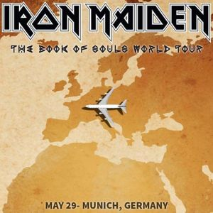 Iron Maiden - May 29 - 2016 - Munich Germany - #MO9090ILMNFSO