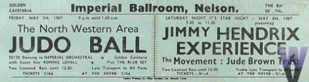 Jimi Hendrix - promo ad - 1967- Imperial Ballroom - England - #MO0999ILMNF