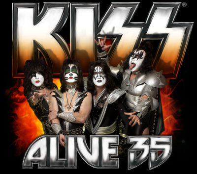 KISS - Alive 35 - promo tour flyer - 2009 - #MO88999ILMFNMSO