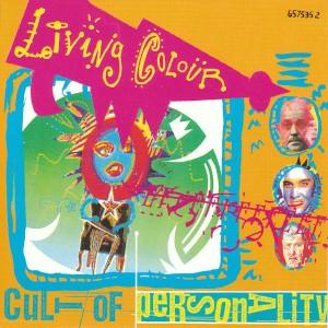 LIVING COLOUR - Cult Of Personality - promo 45rpm cover art - #MO1989ILMFG