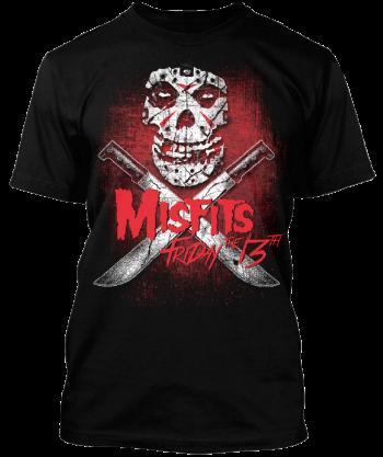 Misfits - Friday The 13th - promo tee photo - 2016 - #MO99099ILMFSO