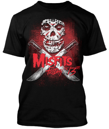 Misfits - Friday The 13th - promo tee photo - 2016 - #MO99099ILMFSO