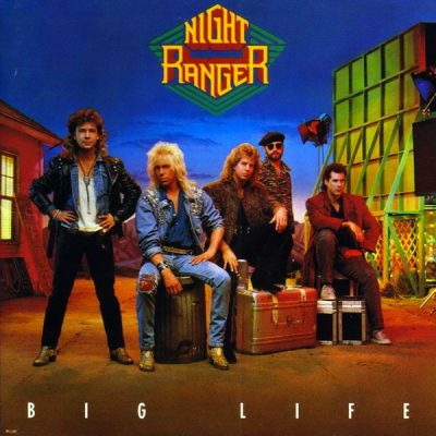 Night Ranger - Big Life - promo album cover pic - 1987 - #MO777ILMFN99