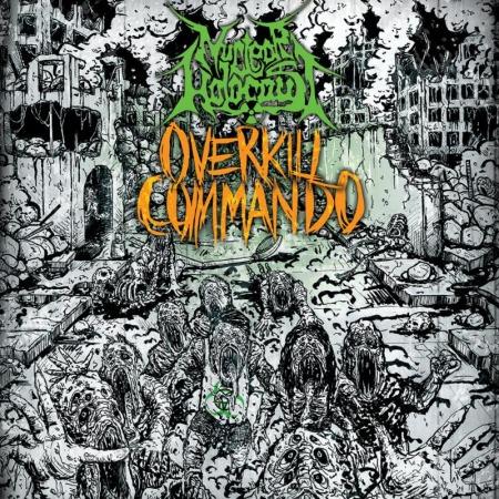 Nuclear Holocaust - Overkill Commando - promo album cover pic - #MO999777ILN