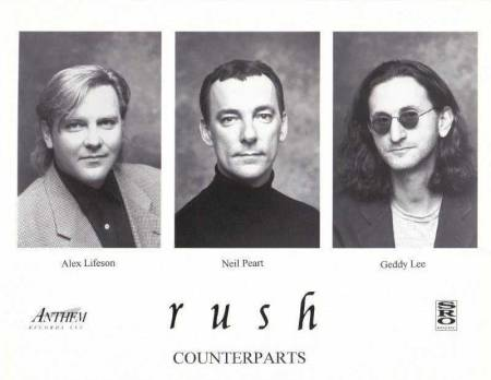 RUSH - Counterparts - promo band photo card - #MO199499ILMFNS