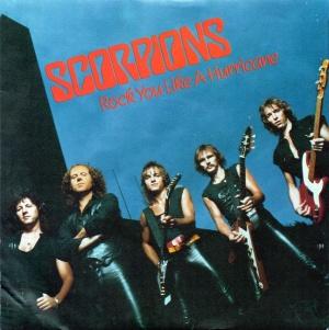 Scorpions - Rock You Like A Hurricane - promo 45rpm cover sleeve - #MO990099ILMFO