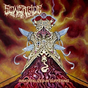 Sewercide - Immortalized In Suffering - promo album cover pic - 2016 - #MO9339ILMF