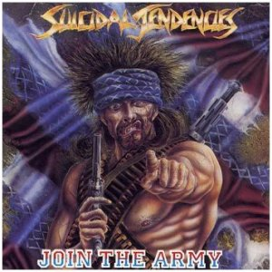 Suicidal Tendencies - Join The Army - promo album cover pic - 1987 - #MO834999ILMNGS