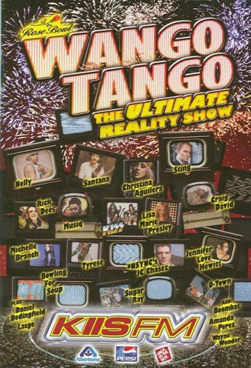 Wango Tango - KIIS FM - promo concert flyer - #MO999ILG