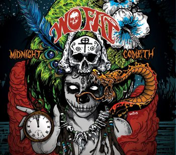 WO FAT - Midnight Cometh - promo album cover pic - 2016 - #MO0009ILMFOS