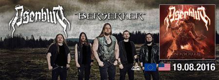 Asenblut - Berserker - promo album banner - 2016 - #MOILMFNSO333