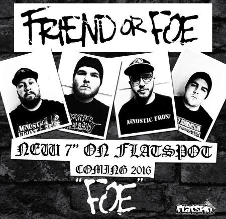 Friend Or Foe - FOE EP - promo cover pic - 2016 - #MO999ILMFSO3326