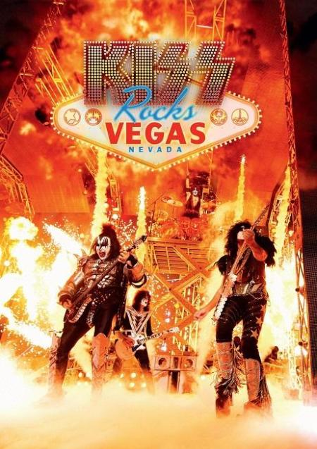 KISS - Rocks Vegas - DVD promo cover pic - 2016 - #MO89987333ILMFSO