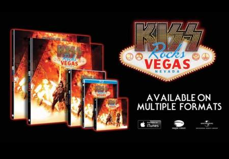 KISS - Rocks Vegas - promo CD - multiple formats banner pic - 2016 - #MO99ILMFSO99