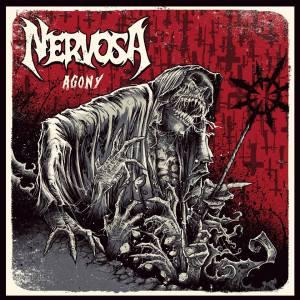 Nervosa - Agony - promo album cover pic - 2016 - #MO333ILMFNSO