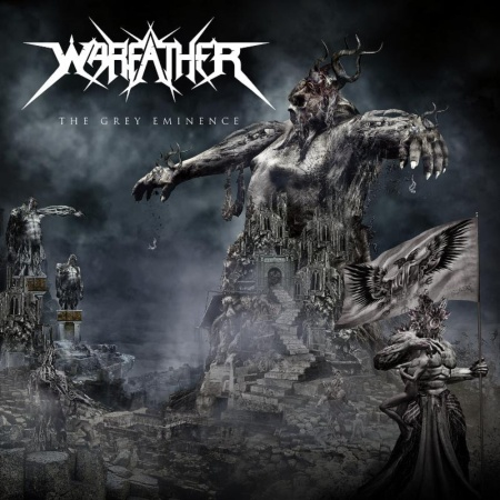 Warfather - The Grey Eminence - promo album cover - 2016 - #MO77333ILMF