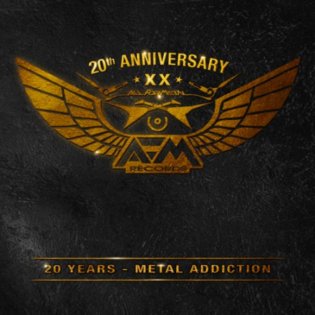 AFM Records - 20 Years - Metal Addiction - promo album cover pic - #MO099099