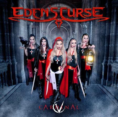 Edens Curse - Cardinal - promo album cover pic - 2016 - #3399MO9ILMF66